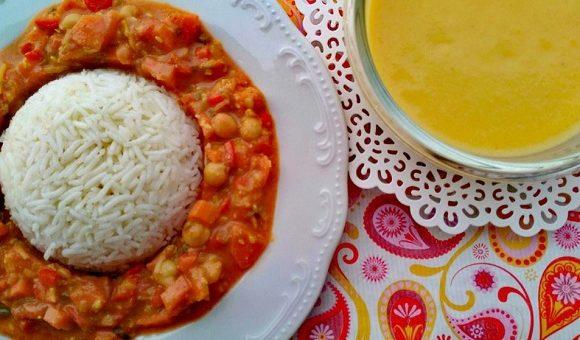 Čičerikino-kokosov curry (ČičeriKokos)